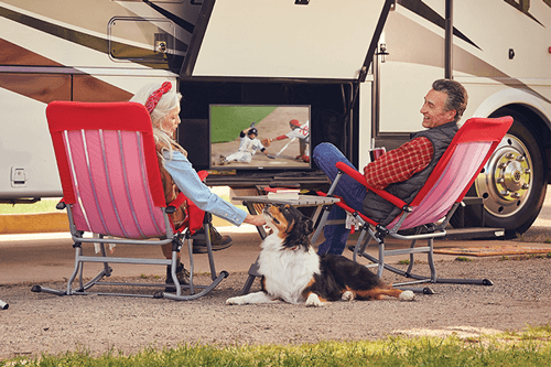 Watch DISH TV Outdoors in the RV- Superior, NE - Sisco - DISH Authorized Retailer